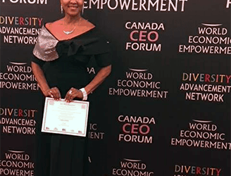 The Black Canadian Network Honors Vivilyn Peterson Black Canadian Role Model