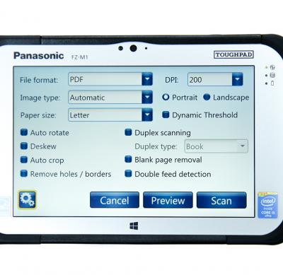 Solution de scanner réseau Panasonic